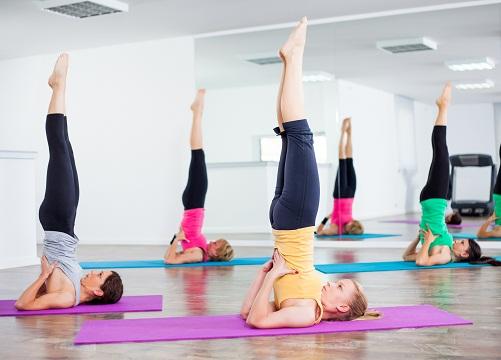 Yoga Asanas for Hair Fall - Sarvangasana