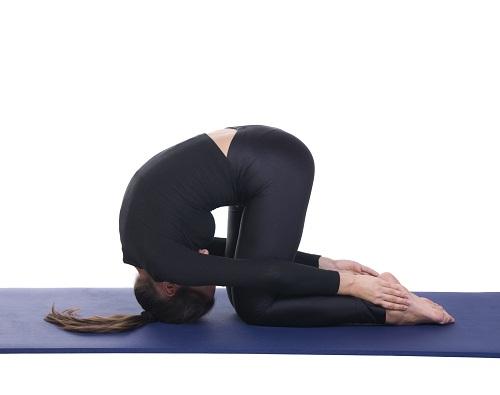 Yoga Asanas for Hair Fall - Sasangasana