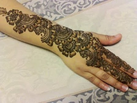 50 special decorative arabic mehndi designs for events 2017
