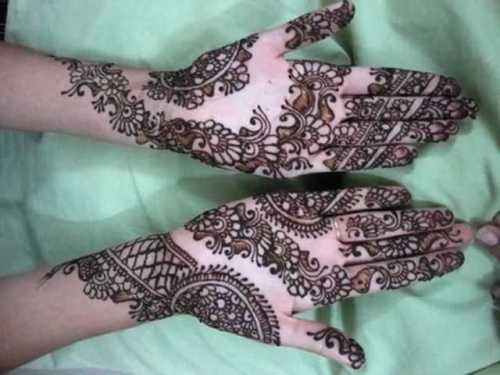 Modern Arabic Mehndi Designs 2014 : Special decorative arabic mehndi designs for events