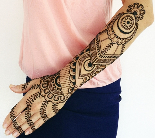 30 Latest Arabic Mehndi Designs 2015 With Pictures