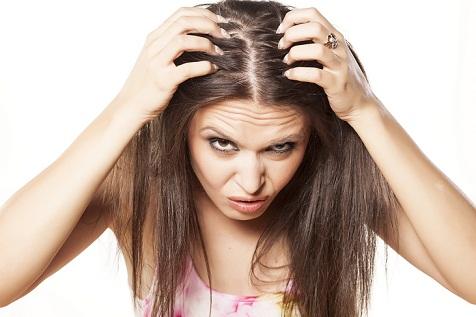 clean scalp