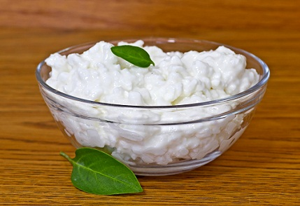 dairy cottage cheese for hair