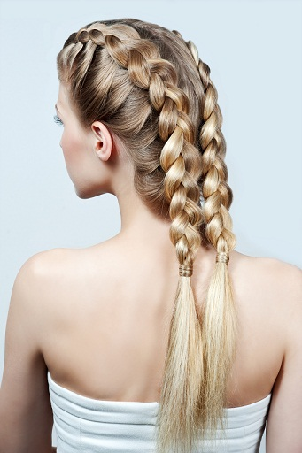 haircare double braid