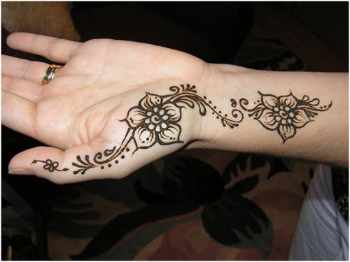Simple Mehndi Patterns Wallpapers : Simple and easy mehndi designs for beginners with images