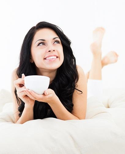 skin care tips - sip tea