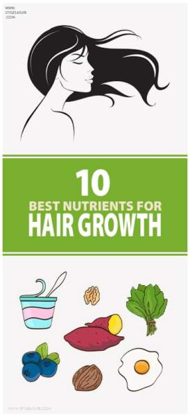 10 Best Foods With Nutrients For Hair Growth