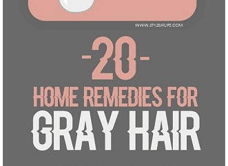 20 Natural Home Remedies For Grey Hair Treatment