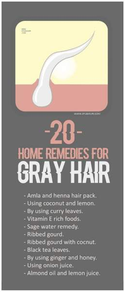 Top 20 Best Home Remedies For Grey Hair Treatment
