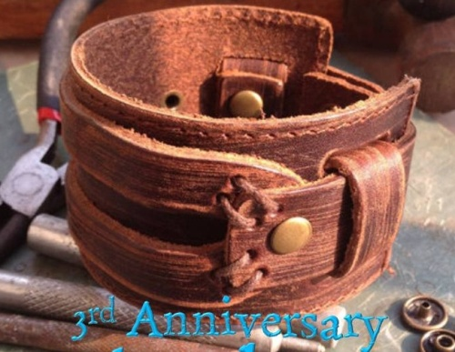 Leather Wedding Anniversary Gifts For Her: 3rd Wedding Anniversary Gift Ideas