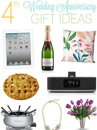 4th Wedding Anniversary Gift Ideas | Styles At Life