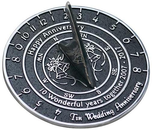 anniversary gift for couples 1st anniversary - Sundials