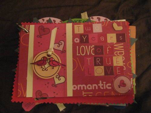 1st anniversary gifts for him - A Journal or Scrapbook