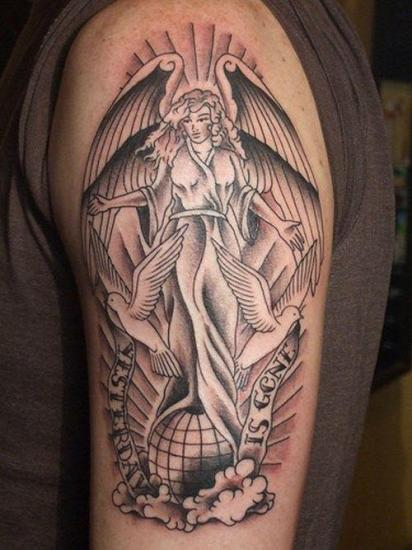Angel Tattoo 1