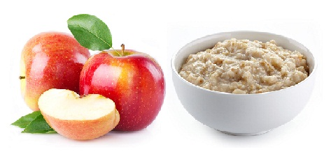 Apple and Oatmeal Face Pack