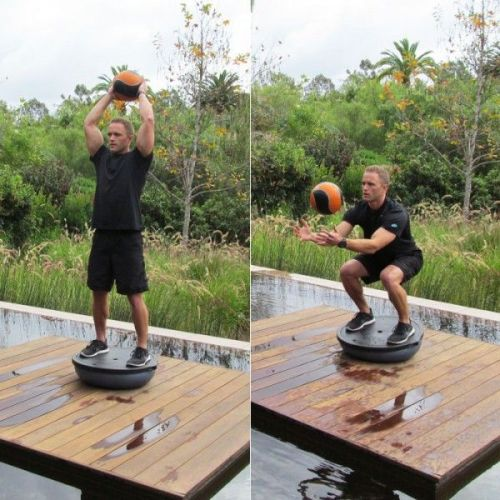 medicine ball exercises - Ball Slam