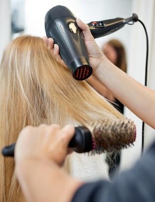 blow-dry-hair-for-coloured-hair