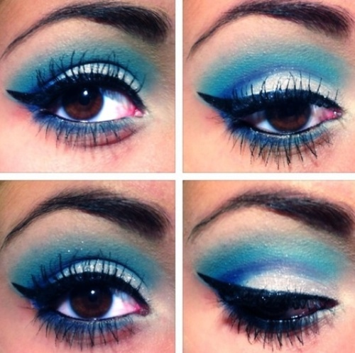 ... Diffe Types Of Eye Makeup Styles. This Makeup
