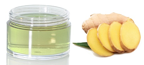 Chilled Aloe Gel and Ginger Face Pack