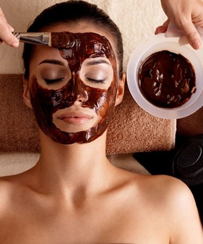 Chocolate Face Mask for dry skin