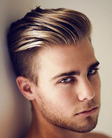 Highlighted Undercut Hairstyle