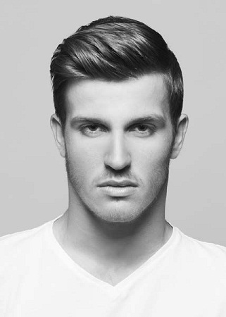 Classic And Short Men's Hairstyle