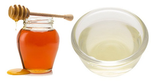 Egg and honey for premature hair greying