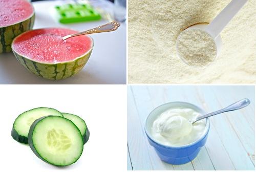 Watermelon juice Mask