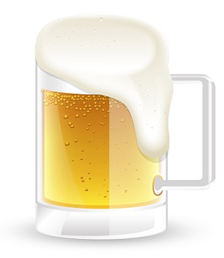 Flat Beer For Damaged Hair