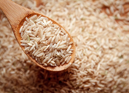 Brown Rice Food For Healthy Hair Roots