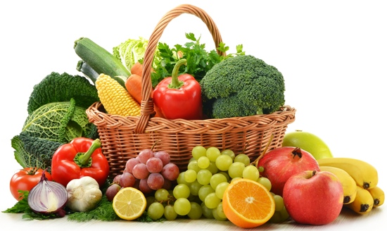 Fruits and vegtables