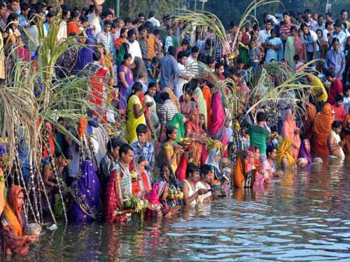 INDIA-RELIGION-HINDU-CHHATH