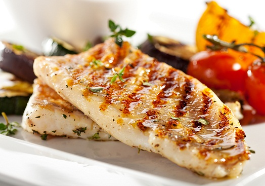 Grilled fish for Increase HAIR