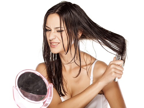 Hair Care Tips for Dry Hair Don't Combing Wet Hair