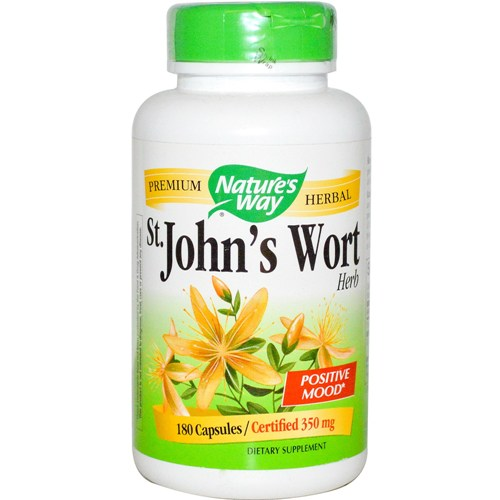 Home Remedies For Depression - John's wort herb