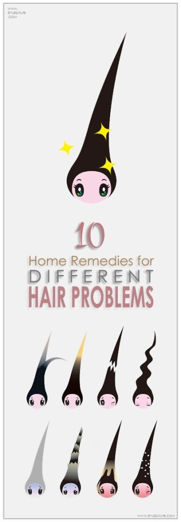 Home remedies for different hair problems