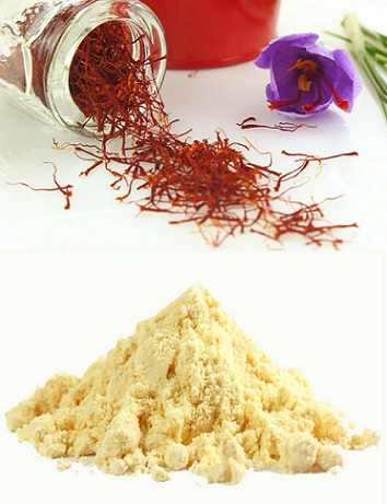 Homemade Face Packs for Dry Skin-Gram Flour and Saffron Face Pack
