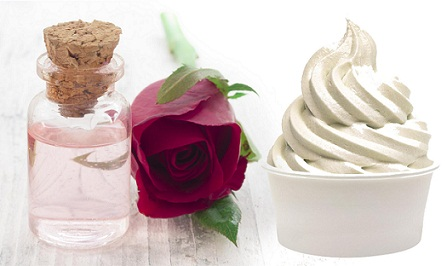 Homemade Face Packs for Dry Skin-Rose Water Yogurt Face Pack