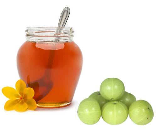 honey and gooseberries