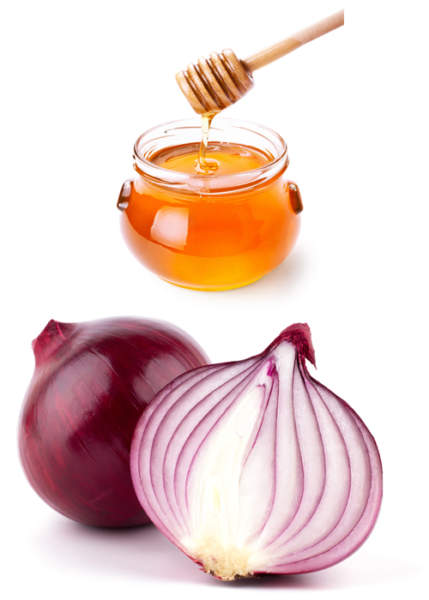 Honey and Onion Juice