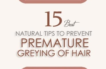How To Prevent Premature Greying Of Hair