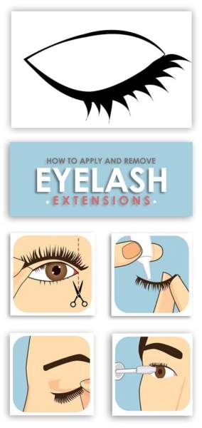 How to Apply and Remove Eyelash Extensions