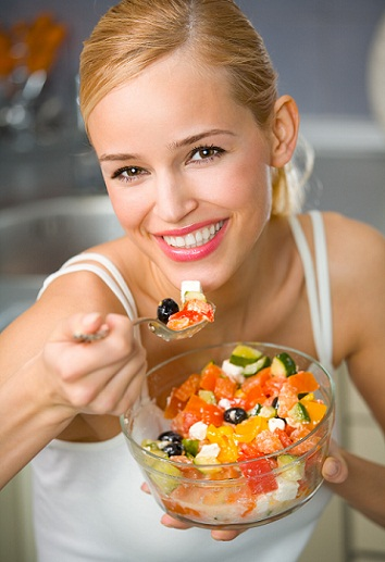 How to Gain Body Weight-Eat in Bigger Bowls