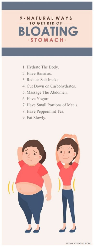 How o Get Rid of Bloating
