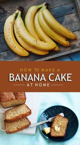 HOW TO MAKE A BANANA CAKE