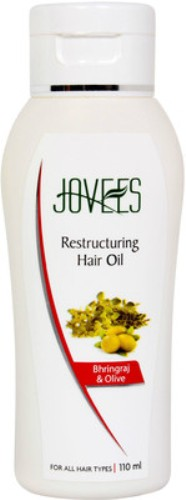 Jovees Bhringraj And Olive Intensive Restructuring Hair Oil