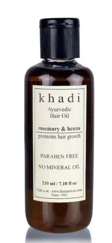 Khadi Henna Rosemary and Henna Hair Oil