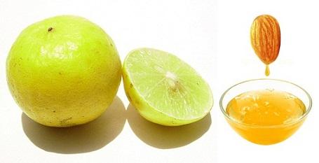 Lemon and Almond for hair