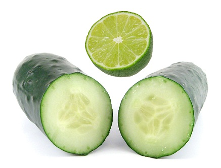 Lime and Cucumber Face Mask