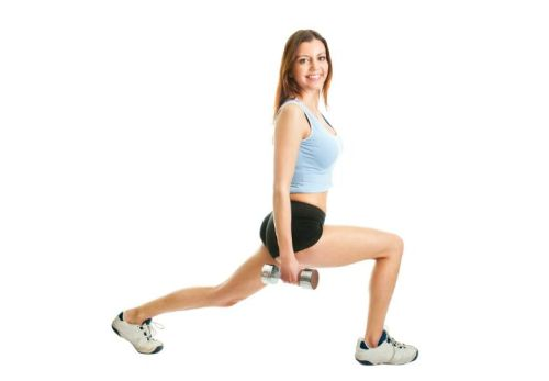 exercise belly fat Lunge Twists